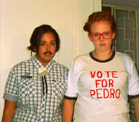 Pedro and Napoleon.