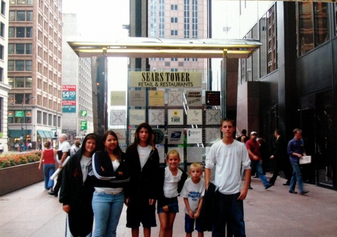 All us us at The Sears Tower, 2004.