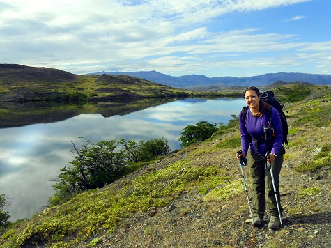 Hiking in Chilean Patagonia, 2014