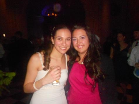 Me and the beautiful bride, Nacha.