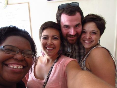 Turkey Day Selfie! LaTorea, Me, Bill and Mish