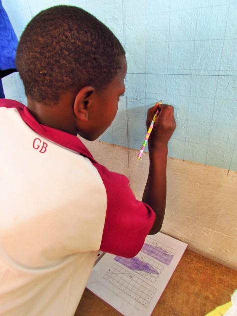 Dawda, grade 5 student