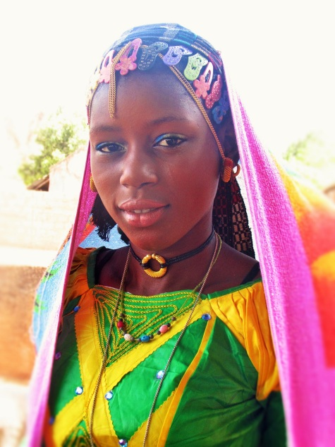 Aminata, a 15-year-old bride