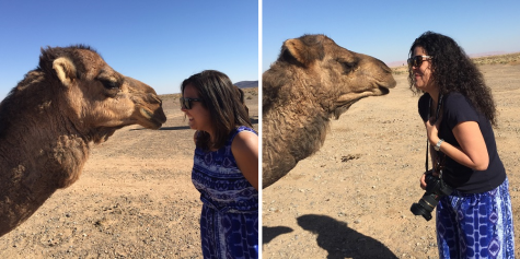Camel kisses!