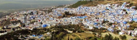 Feeling anything but blue in Morocco's 'blue city'