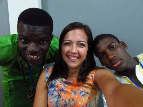 Buba, me and Modou Lamin